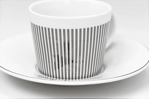 [52387] Porcelain mirror cup (230cc)