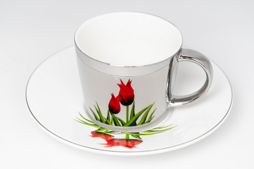 [52389] Porcelain mirror cup (230cc)