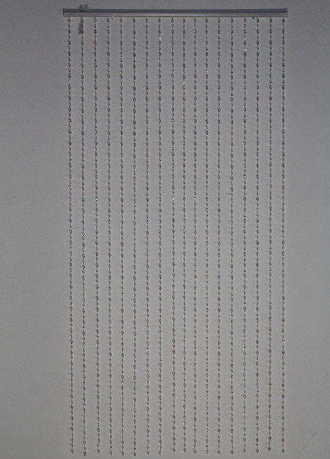 "[44152] 35.5""x71""door curtain (shiny clear)"