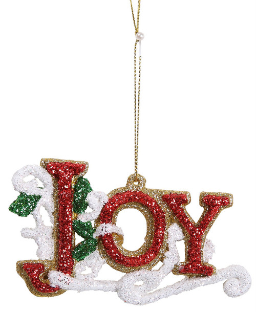 "[45578] 4.25"" plastic joy ornament"