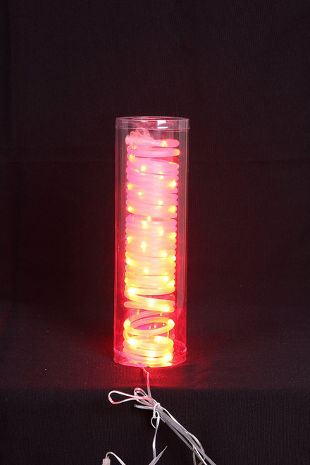 "[46200] 196""red LED tube w/50 lights"