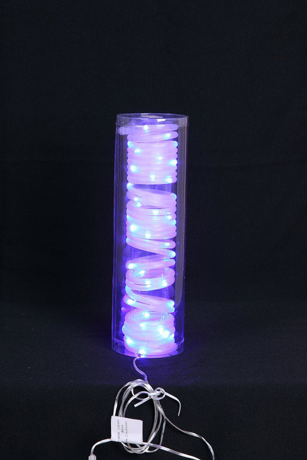 "[46202] 196"" blue LED tube w/50 lights"