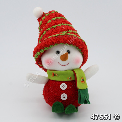 "[47551] 7.5"" Skiing Boy Snowman"