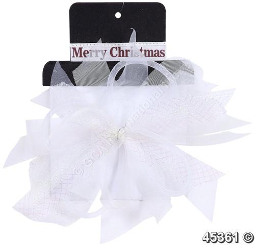 """[45361] 12x12""""Christmas bow"""