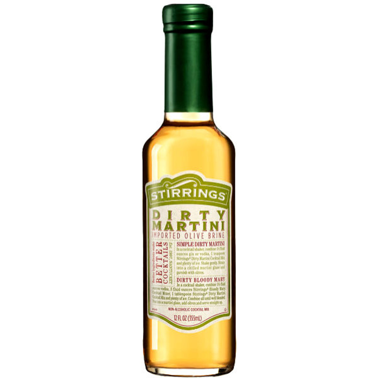 Stirrings Dirty Martini Cocktail Mixer 12oz