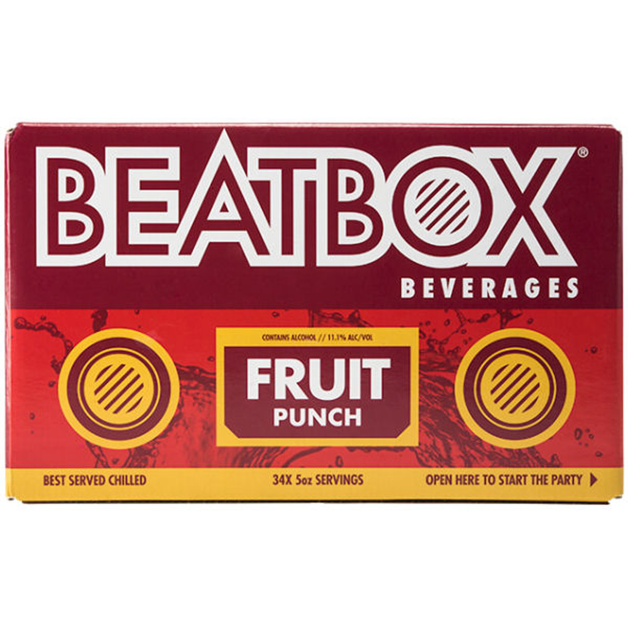 BeatBox Beverages Fruit Punch 5L