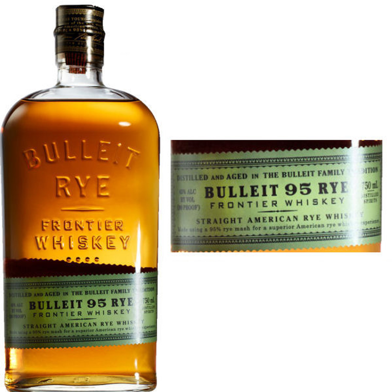Bulleit 95 Rye American Whiskey 750ML