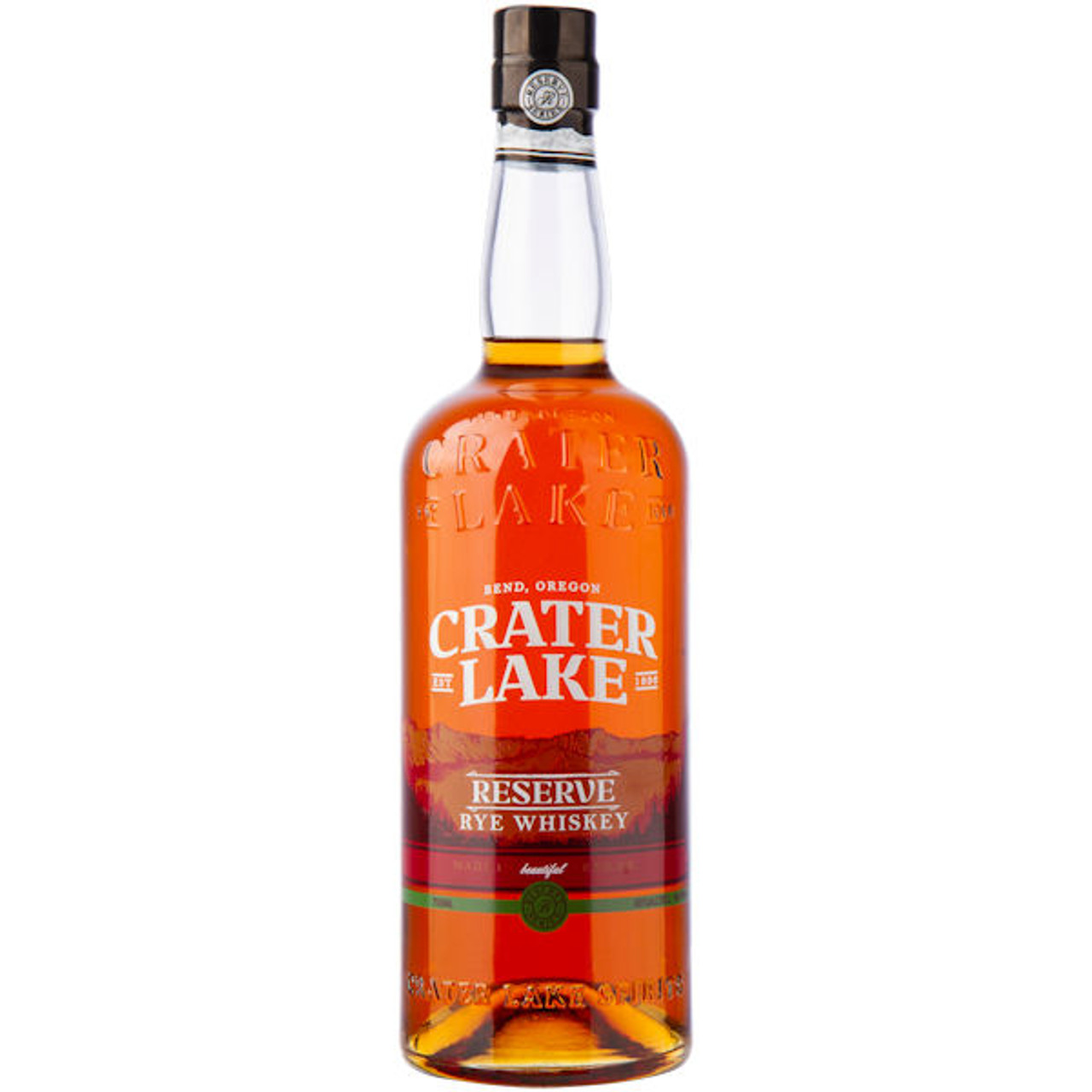 Crater Lake Reserve Rye Whiskey 750ml