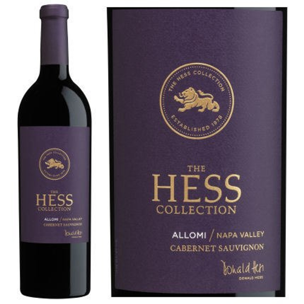 Hess Estate Allomi Vineyard Cabernet