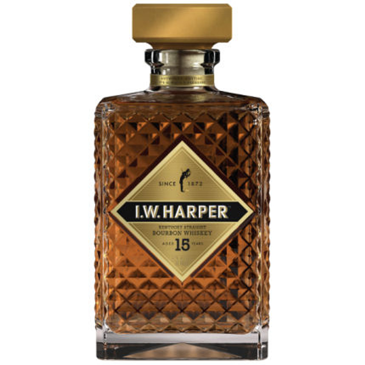 I.W. Harper 15 Year Old Kentucky Straight Bourbon Whiskey 750ml