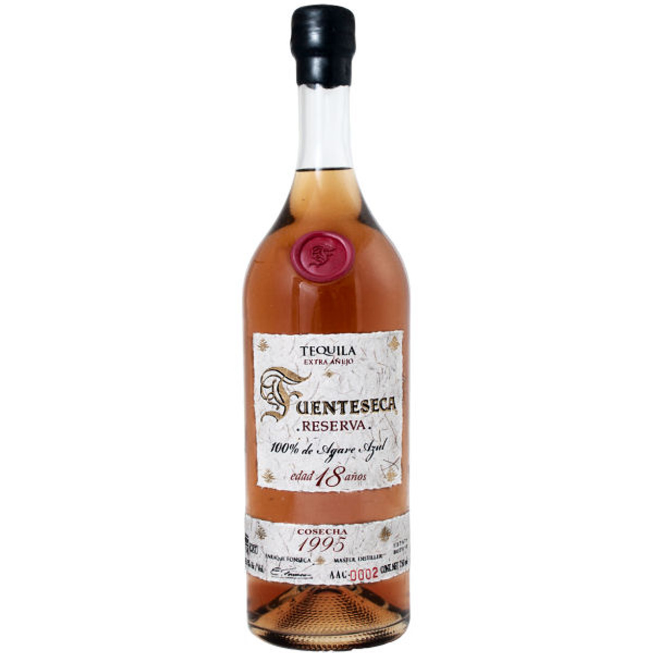 2e84e4f041b Fuenteseca Reserva Extra Anejo 1995 18 Year Old Tequila 750ml