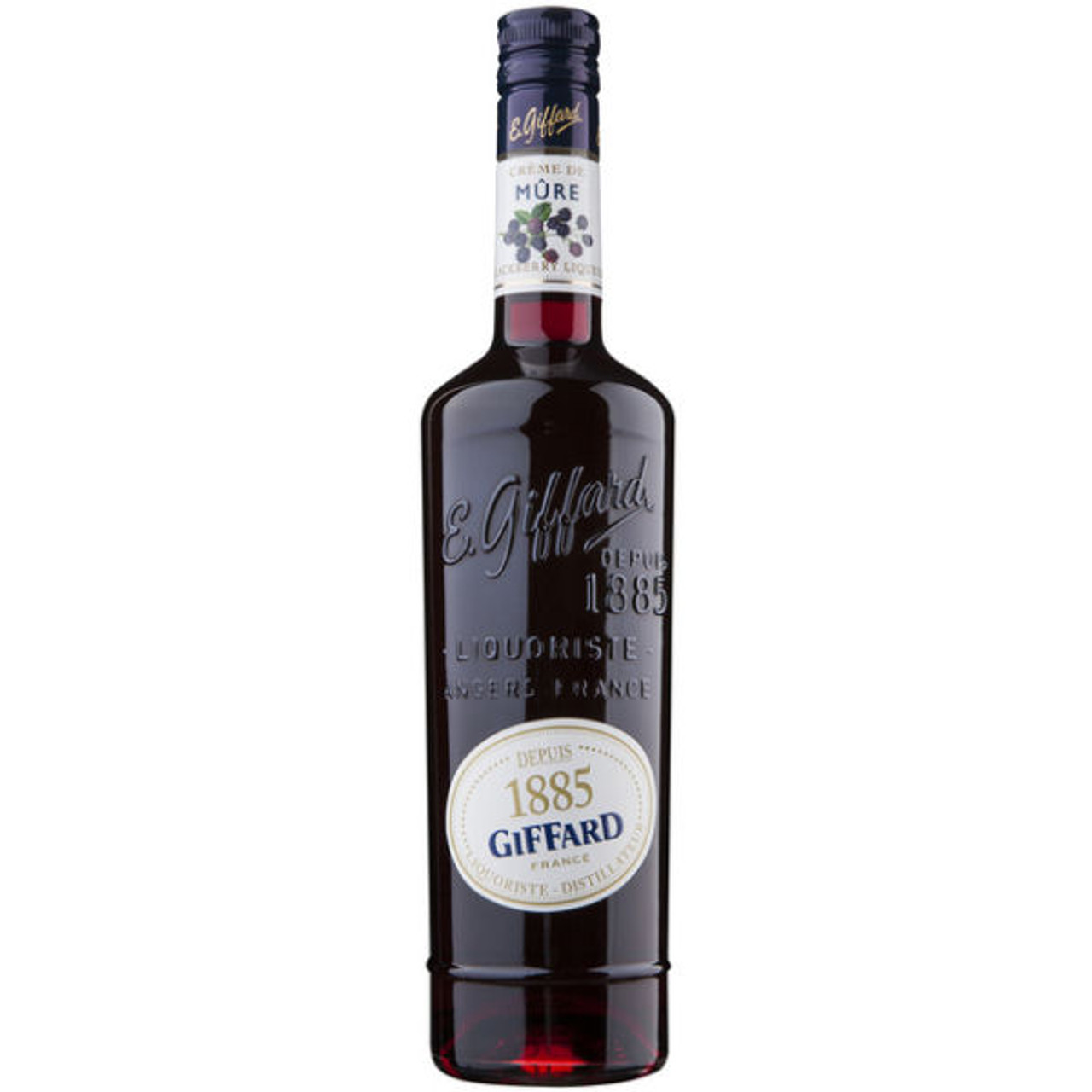 Giffard Creme de Mure Blackberry Liqueur 750ml