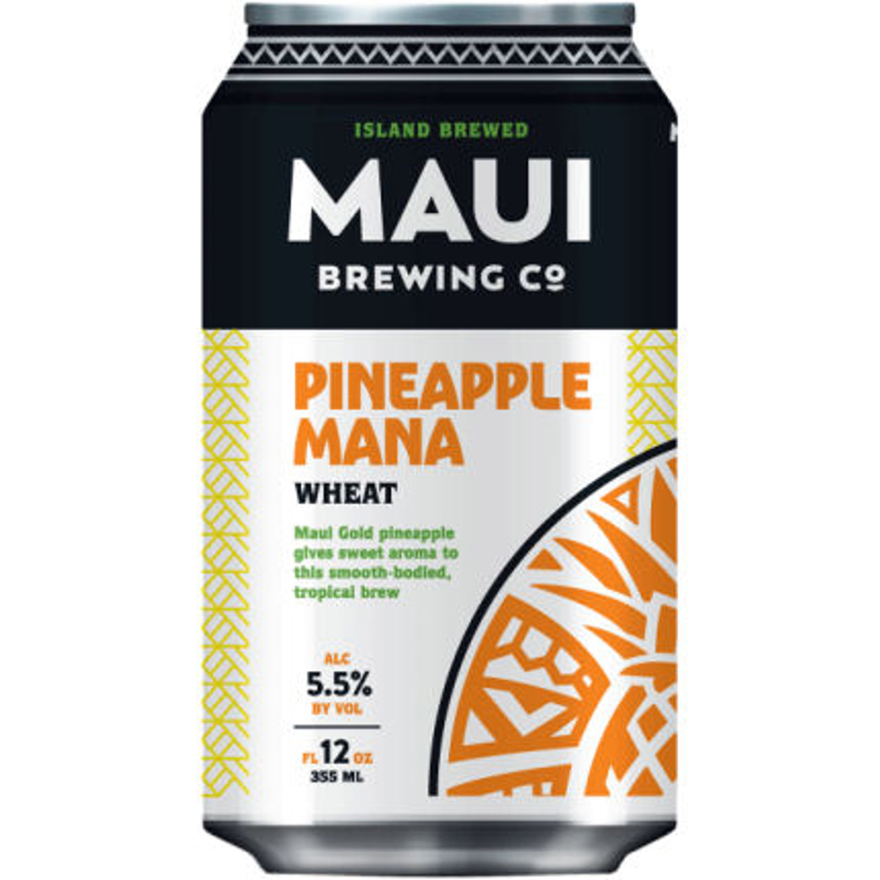 Maui Brewing Pineapple Mana Wheat Ale 12oz 4 Pack Cans