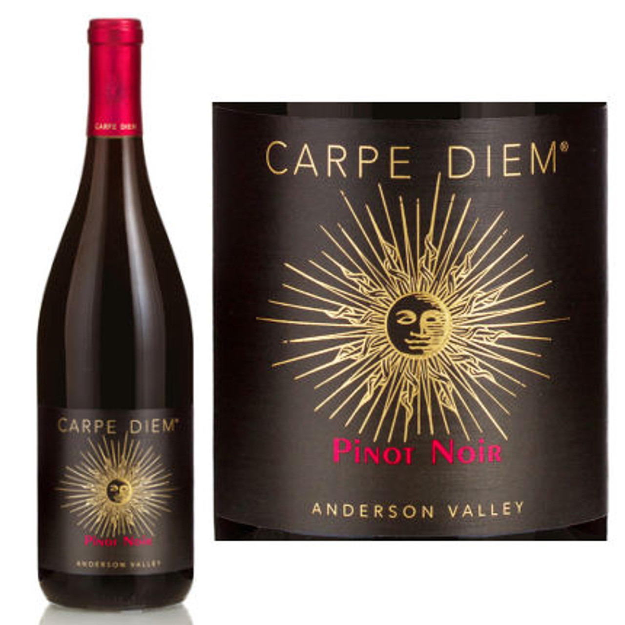 Carpe Diem Anderson Valley Pinot Noir 2014 Rated 91WE