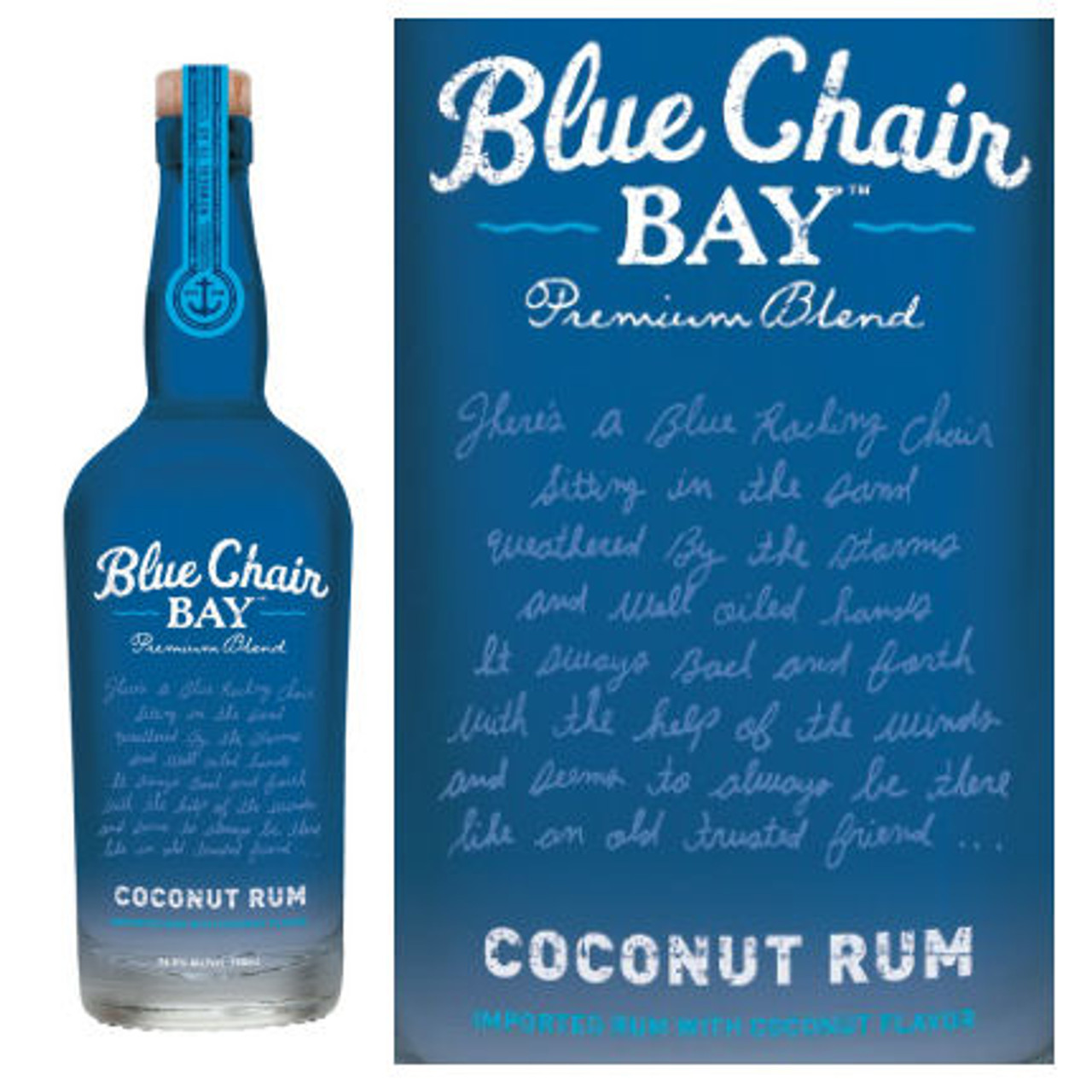 Pleasant Kenny Chesney Blue Chair Bay Coconut Rum 750Ml Uwap Interior Chair Design Uwaporg