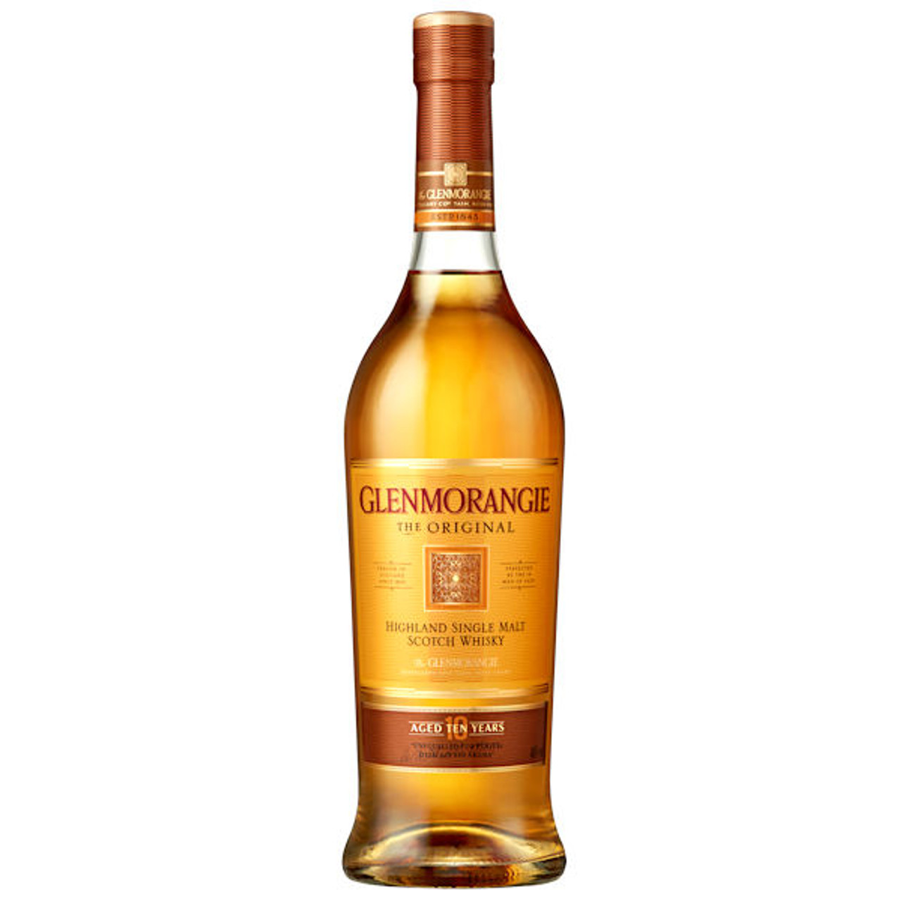 Glenmorangie The Original 10 Year Old Highland Single Malt Scotch 750ml