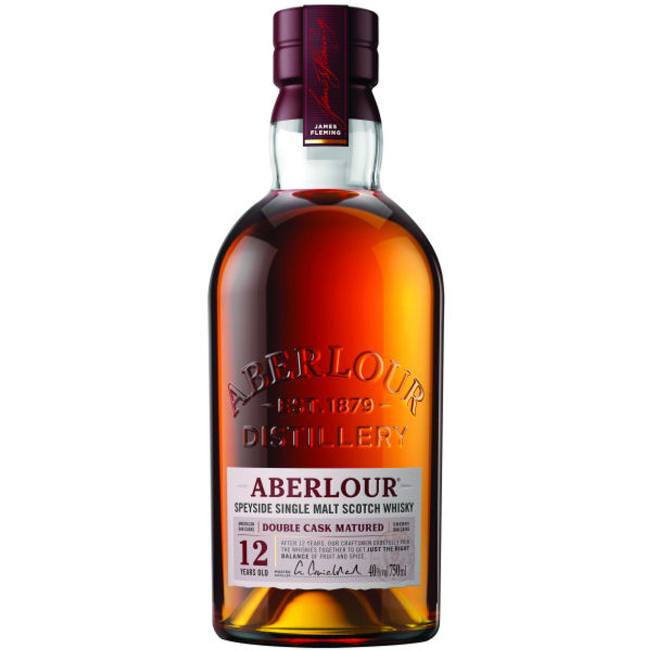 Aberlour 12 Year Old Double Cask Matured Highland Single Malt ...