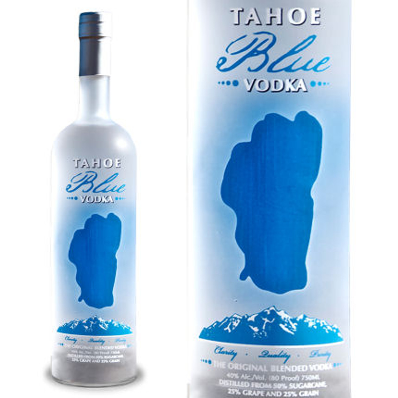 Tahoe Blue Vodka 750ml