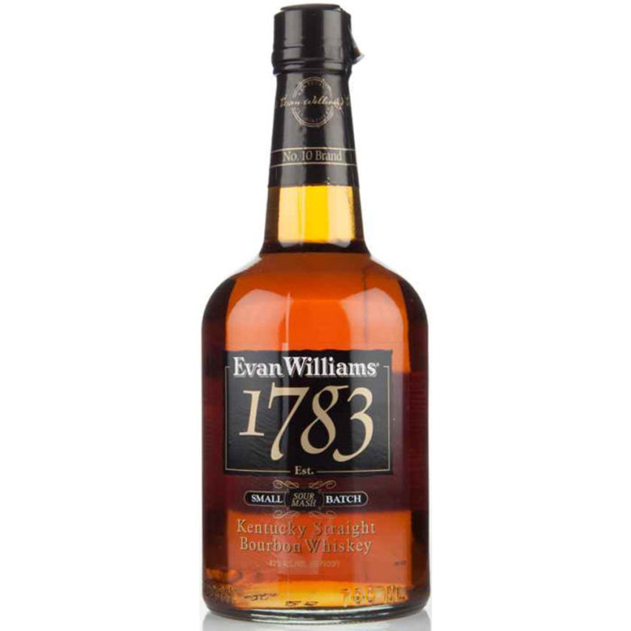 Evan Williams 1783 Kentucky Straight Bourbon Whiskey 750ml