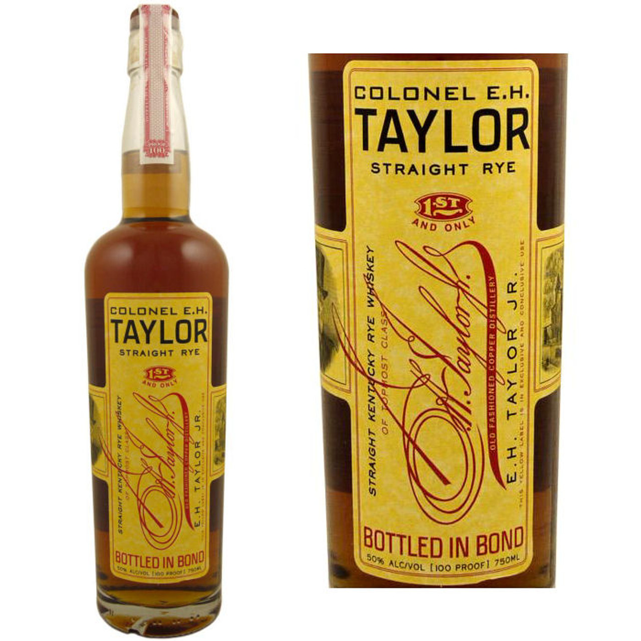 Colonel E.H. Taylor Jr. Straight Rye Whiskey 750ml
