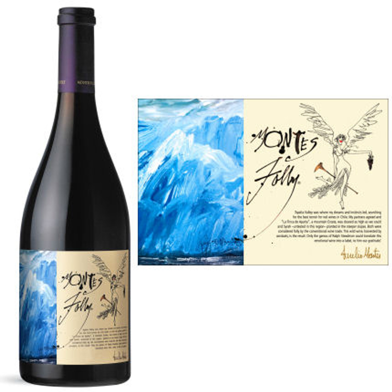 Montes Folly Colchagua Valley Syrah