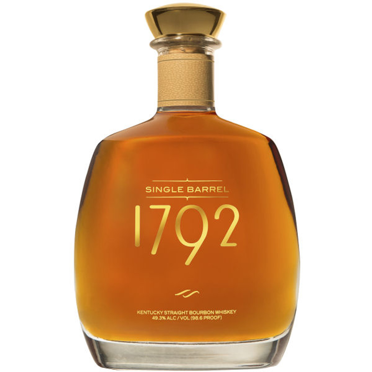 1792 Single Barrel Kentucky Straight Bourbon Whiskey 750ml