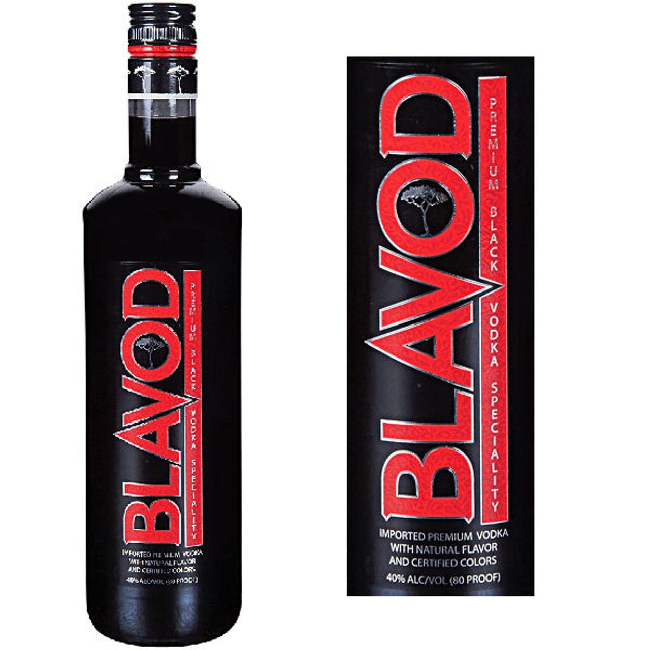 Blavod Premium Black Vodka 750ml