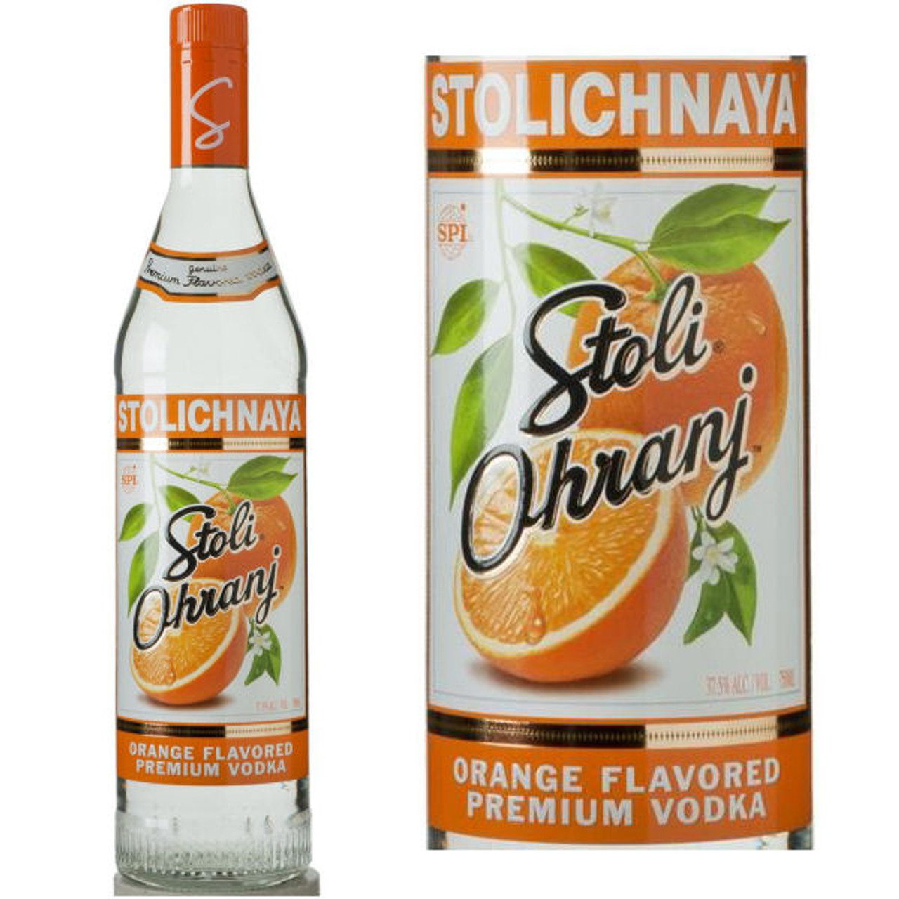 Stolichnaya Ohranj Flavored Russian Vodka 750ml
