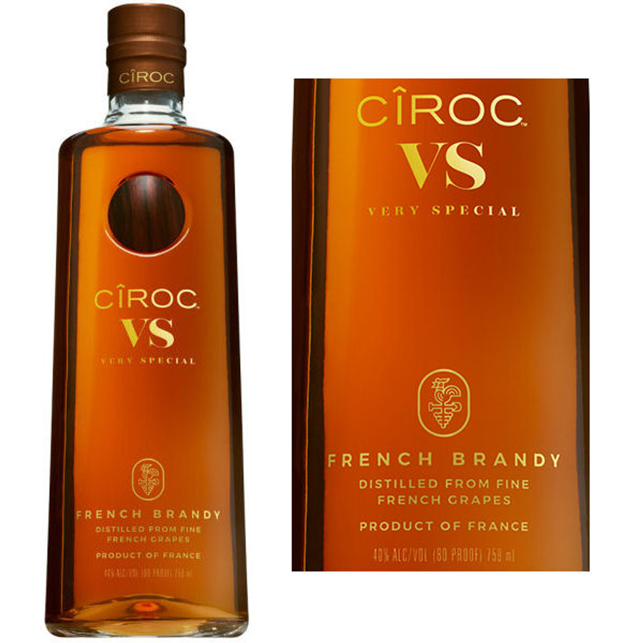 Ciroc VS French Brandy 750ml