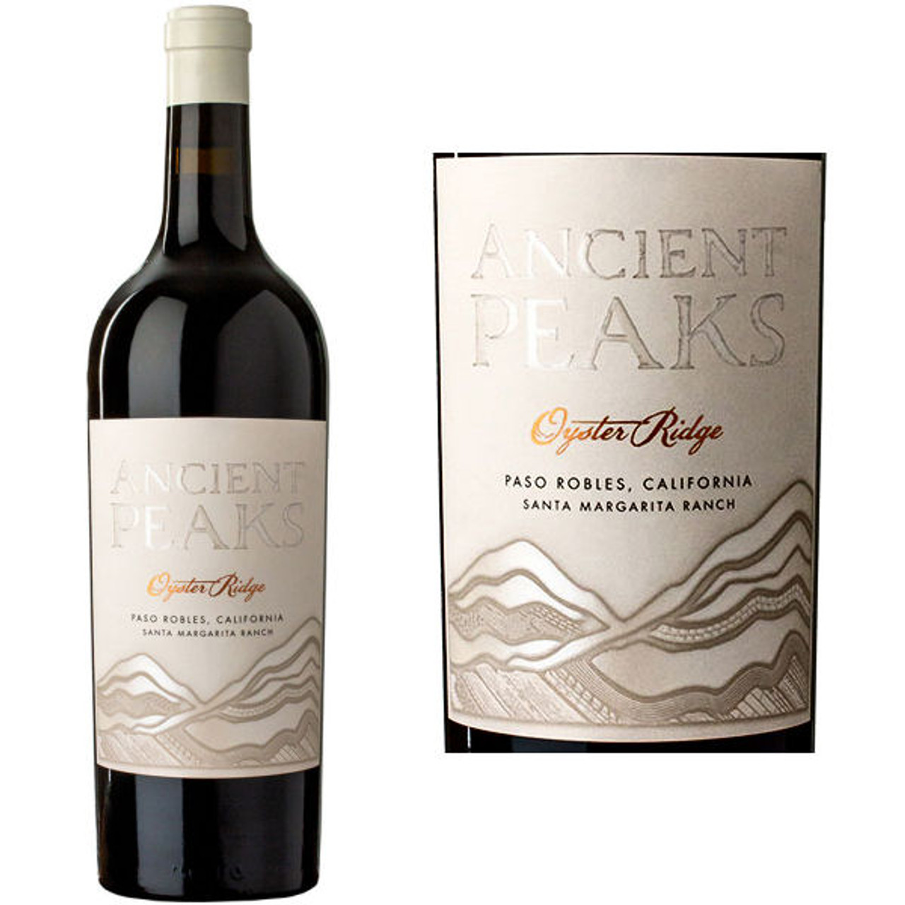 Ancient Peaks Oyster Ridge Santa Margarita Ranch Paso Robles Red Blend