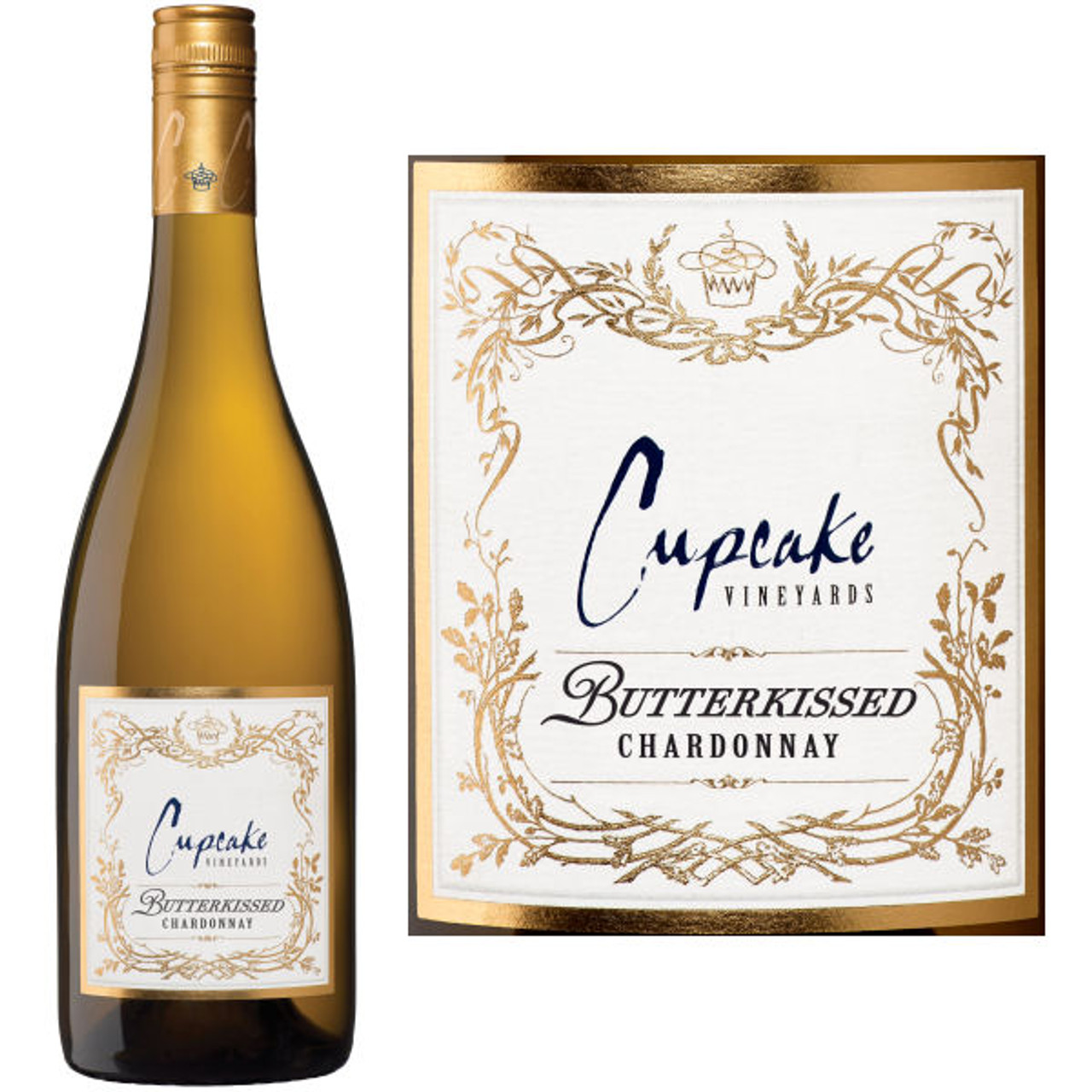 Cupcake Butterkissed California Chardonnay