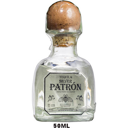 50ml Mini Patron Silver Tequila