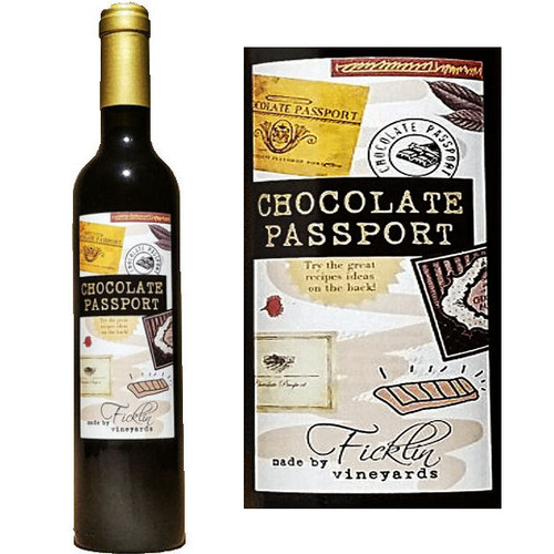 Ficklin Chocolate Port Sauce 500ML