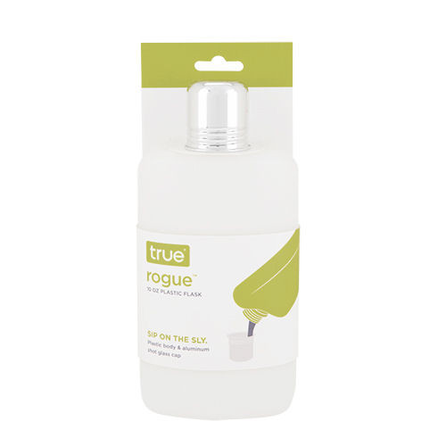 True Rogue 10oz Plastic Travel Flask