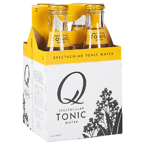 Q Spectacular Tonic Water 6.3oz (187ml) 4-Pack