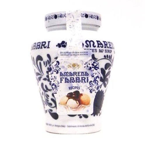 Fabbri Amarena Cherries in Syrup - 21oz Decorated Jar