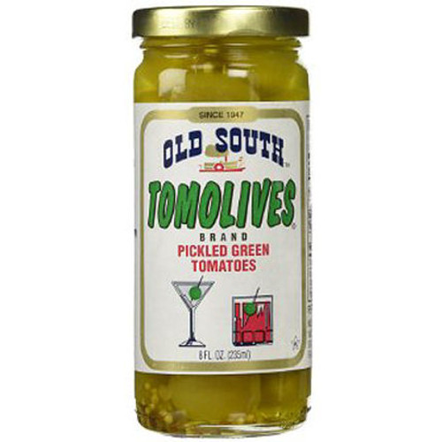 Old South Tomolives Pickled Green Tomatoes 8oz