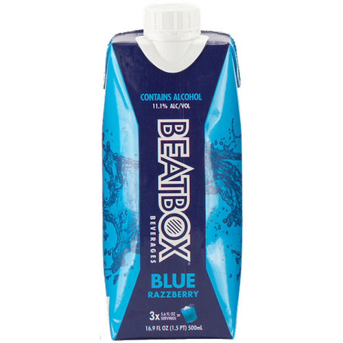 BeatBox Beverages Blue Razzberry 500ml