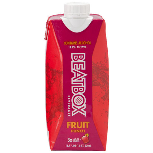 BeatBox Beverages Fruit Punch 500ml