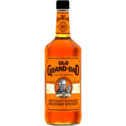 Old Grand Dad Kentucky Straight Bourbon Whiskey 750ml