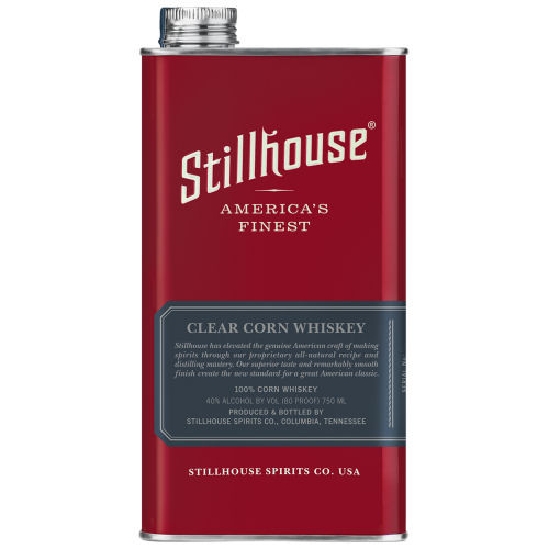 Stillhouse Clear Corn Whiskey 750ml Can