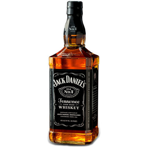 Jack Daniels Old No. 7 Tennessee Sour Mash Whiskey 750ML
