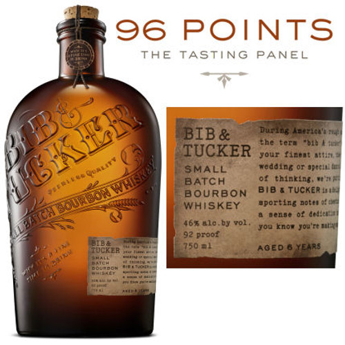 Bib & Tucker 6 Year Old Small Batch Bourbon Whiskey 750ml