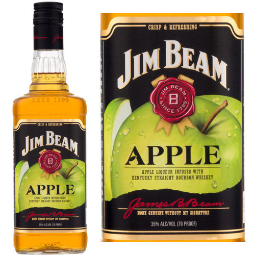 Jim Beam Apple Bourbon Liqueur 750ml