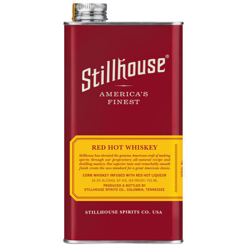 Stillhouse Red Hot Whiskey 750ml Can