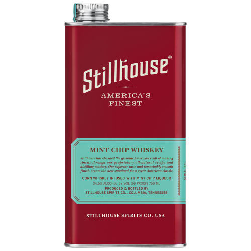 Stillhouse Mint Chip Whiskey 750ml Can