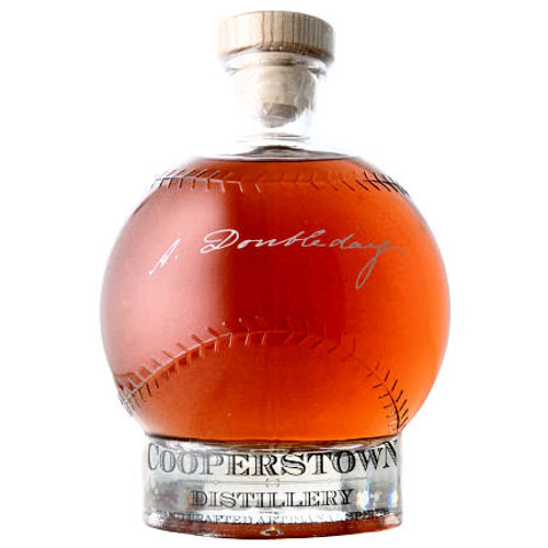 Cooperstown Abner Doubleday Classic American Baseball Whiskey 750ml
