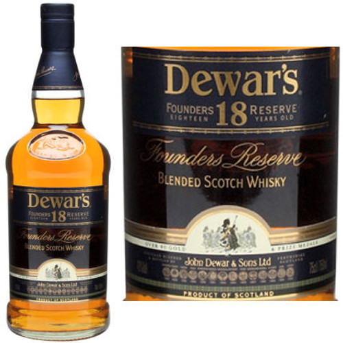 Dewar's 18 Year Old The Vintage Blended Scotch Whisky 750ml