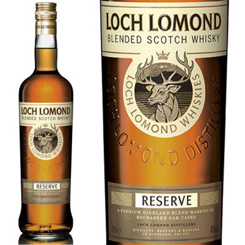 Loch Lomond Reserve Blended Scotch Whisky 750ml