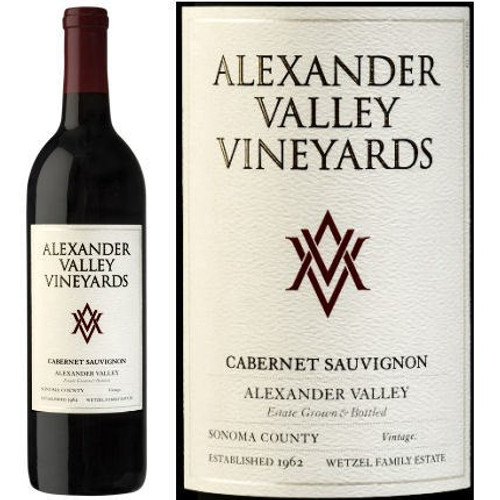 Alexander Valley Vineyards Wetzel Family Estate Alexander Cabernet